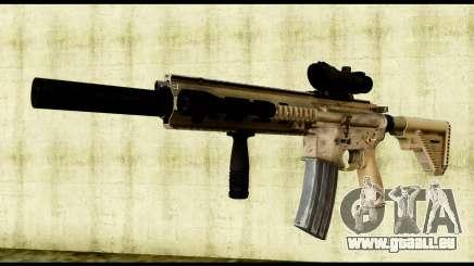 HK416 SOPMOD für GTA San Andreas