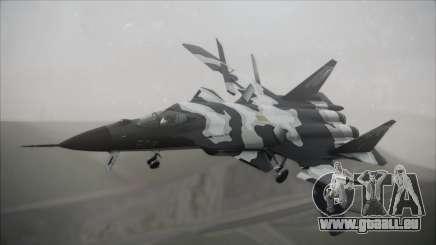 SU-47 Berkut Grabacr Ace Combat 5 pour GTA San Andreas