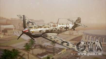 Messerschmitt BF-109 E3 pour GTA San Andreas