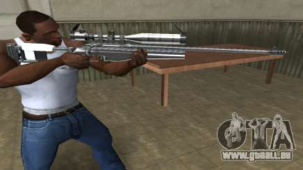Full Silver Sniper Rifle pour GTA San Andreas