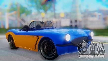 Invetero Coquette BlackFin v2 SA Plate für GTA San Andreas
