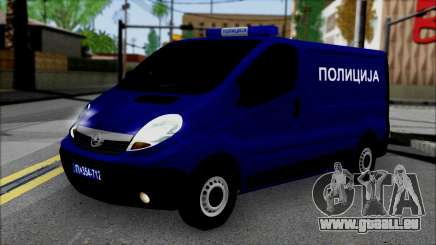 Opel Vivaro Policija pour GTA San Andreas
