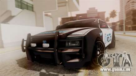 Hunter Citizen from Burnout Paradise Police SF für GTA San Andreas
