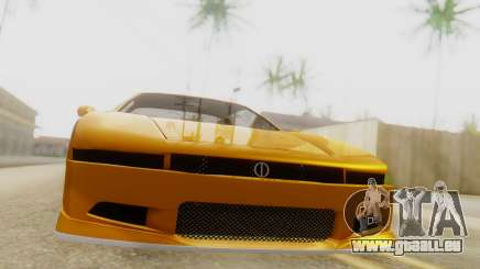 Infernus BMW Revolution with Spoiler pour GTA San Andreas