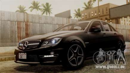 Mercedes-Benz C63 AMG 2015 Edition One für GTA San Andreas