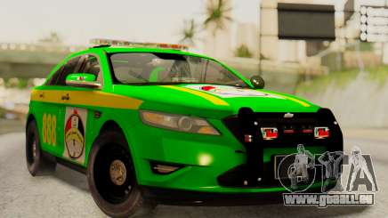 Ford Taurus Iraq Police für GTA San Andreas