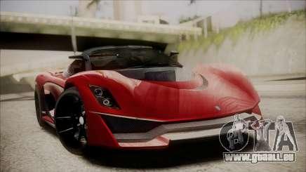 GTA 5 Grotti Turismo R IVF pour GTA San Andreas