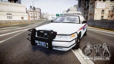 Ford Crown Victoria Bohan Police [ELS] pour GTA 4