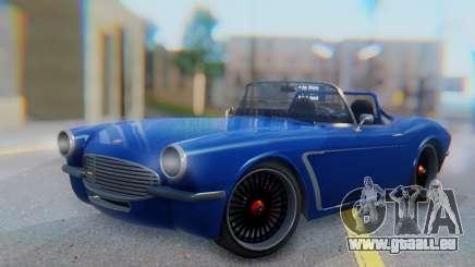 Invetero Coquette BlackFin Convertible pour GTA San Andreas