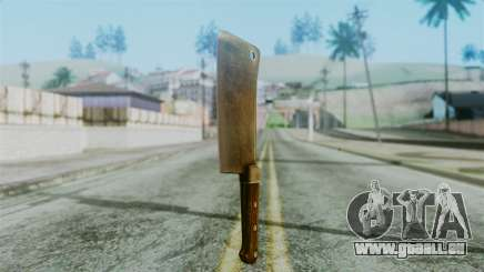 Cleaver from Silent Hill Downpour pour GTA San Andreas