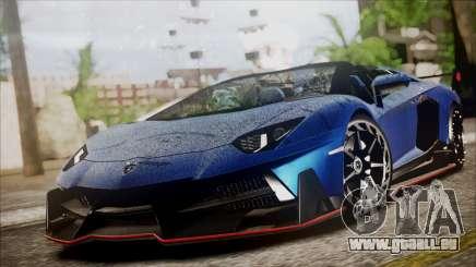 Lamborghini Veneno LP700-4 AVSM Roadster Version pour GTA San Andreas