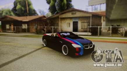 BMW M6 Cabrio pour GTA San Andreas