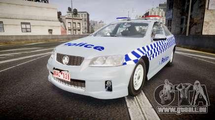 Holden Commodore Omega Victoria Police [ELS] für GTA 4