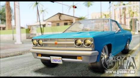 GTA 5 Cheval Picador IVF pour GTA San Andreas