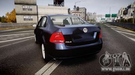 Volkswagen Polo für GTA 4 hinten links Ansicht