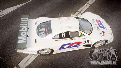 Mercedes-Benz CLK LM 1998 für GTA 4 rechte Ansicht