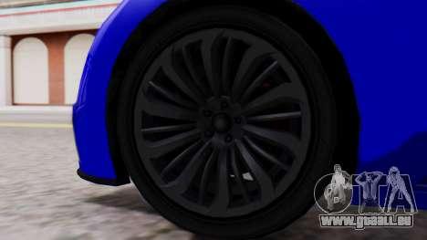 GTA 5 Truffade Adder Convertible pour GTA San Andreas sur la vue arrière gauche