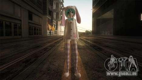 Miku Bunny pour GTA San Andreas deuxième écran