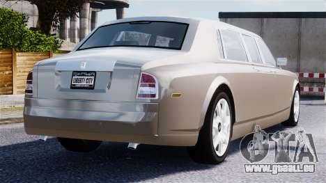 Rolls-Royce Phantom LWB für GTA 4 Unteransicht