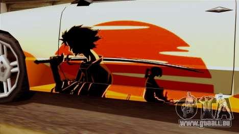 Vinyl für Elegy - Driften Samurai für GTA San Andreas rechten Ansicht