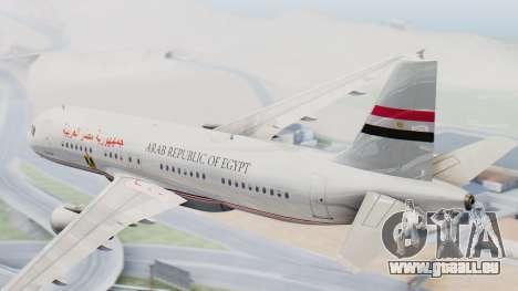 Airbus A320-200 Egyptian Air Force One für GTA San Andreas linke Ansicht