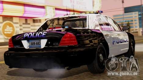 Police LS 2013 für GTA San Andreas linke Ansicht