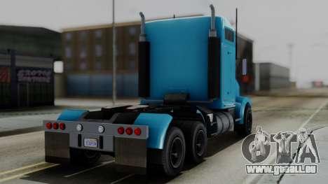 GTA 5 MTL Packer Trainer pour GTA San Andreas laissé vue