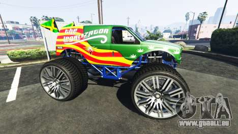 GTA 5 Vapid The Liberator The Legalizator linke Seitenansicht