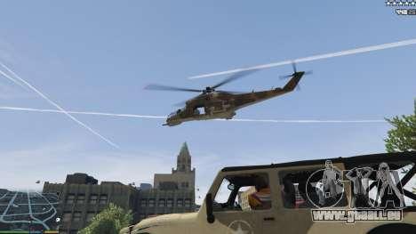 GTA 5 L'armée au lieu de la police sur 5-étoiles v1.3. cinquième capture d'écran