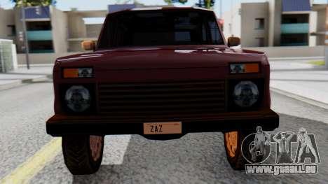 Les VASES Niva 2121 SA Style pour GTA San Andreas vue de droite
