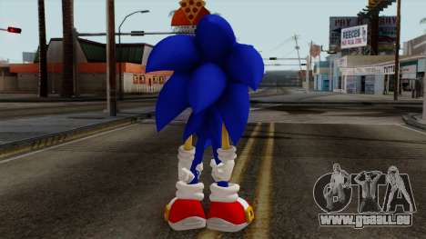 Sonic the Hedgehog HD für GTA San Andreas dritten Screenshot