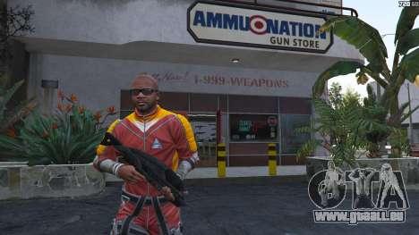 M-8 Avenger из Mass Effect 2 für GTA 5