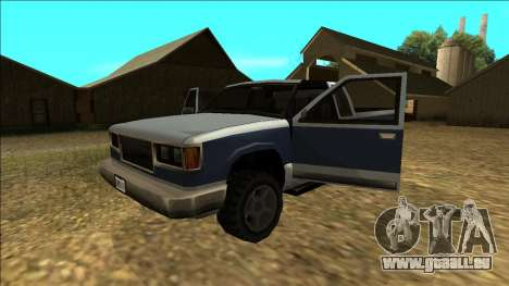New Yosemite v2 pour GTA San Andreas moteur