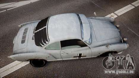 Volkswagen Karmann-Ghia Typ 14 pour GTA 4 est un droit