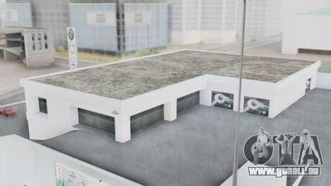 Le Concessionnaire MAGR-Auto pour GTA San Andreas deuxième écran