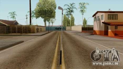 Original HD Golf Club pour GTA San Andreas deuxième écran