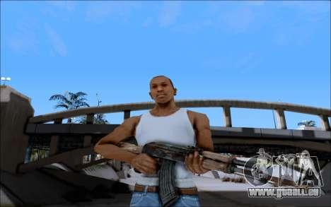 AK-47 Soviet für GTA San Andreas