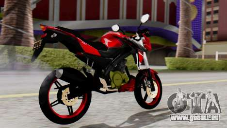 Yamaha Vixion Advance pour GTA San Andreas laissé vue