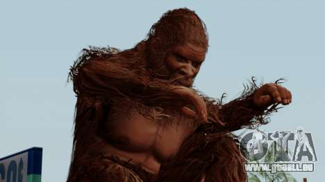 GTA 5 Bigfoot pour GTA San Andreas