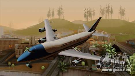 Boeing 747 Air Force One pour GTA San Andreas