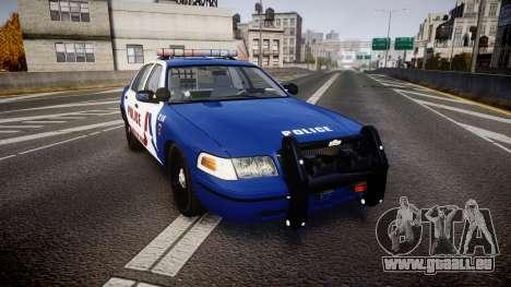 Ford Crown Victoria Alderney Police [ELS] pour GTA 4