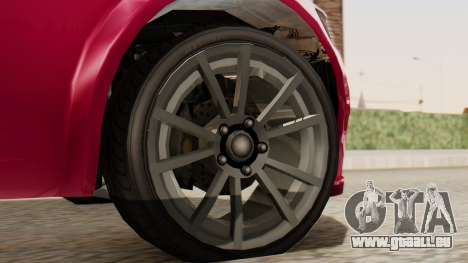 GTA 5 Cheval Fugitive für GTA San Andreas zurück linke Ansicht