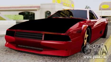 Cheetah Al_Piso für GTA San Andreas