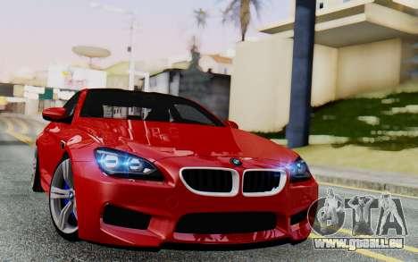 BMW M6 2013 v1.0 pour GTA San Andreas