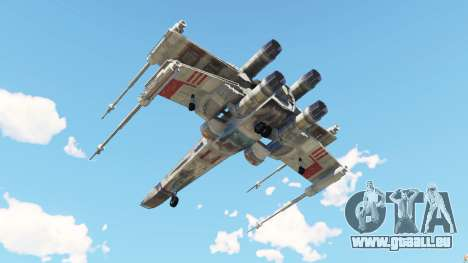 GTA 5 X-wing T-65 v1.1 quatrième capture d'écran