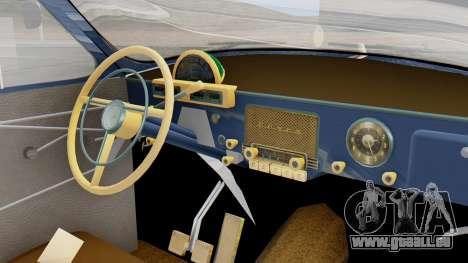 GAZ 21 Volga v1 pour GTA San Andreas vue de droite