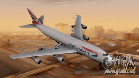 Boeing 747-200 British Airways pour GTA San Andreas