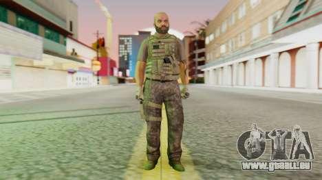 [GTA5] BlackOps2 Army Skin pour GTA San Andreas deuxième écran