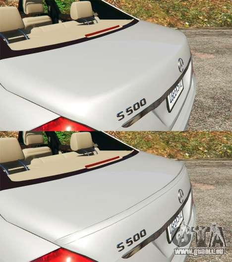 Mercedes-Benz S500 W221 v0.3 [Alpha] für GTA 5