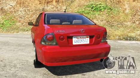 Lexus IS300 für GTA 5